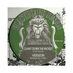 "Echo Ranks / Mo'Kalamity / Rockdis All Stars - Chant Down The Wicked / Conquering Lion - 12"" - Blackboard Jungle"