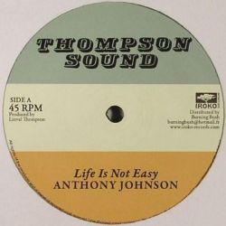 "Anthony Johnson / Linval Thompson - Life Is Not Easy / Rastafari Is My Religion - 12"" - Iroko Records"