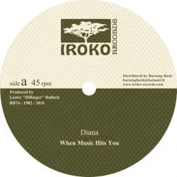 "Diana  - When Music Hits You - 12"" - Iroko Records"