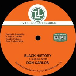 "Don Carlos  / Junior Reid - Black History / Woman Change Your Ways  - 12"" - Live  Learn Records"