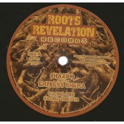"Chazbo / Empress Shema - Sacred Fire / Seal Of Salomon - 10"" - Roots Revelation Records"