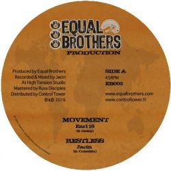 "Earl Sixteen - Movement - 12"" - Equal Brothers"