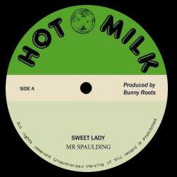 """Mr. Spaulding - Sweet Lady / Vision - 12"""" - Hot Milk"""