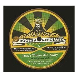 "Bunnington Judah / Crucial Alphonso - Don't Throw Jah Away / Mawuli Steppers - 12"" - Roots Resolute Records"