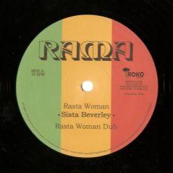 "Sista Beverley / Dennis Bovell - Rasta Woman / Za-Ion - 12"" - Iroko Records"