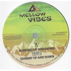 "Debi G / Sista Sherin - Running Up And Down / Trod A Long - 12"" - Mellow Vibes"
