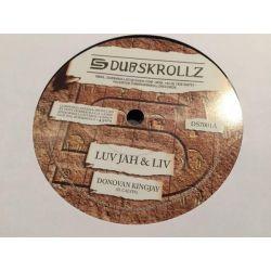 "Donovan King Jay - Luv Jah & Liv  - 7"" - Dub Skrollz"