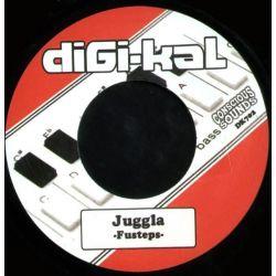 """Fu-steps - Juggla - 7"""" - Digi-kal"""
