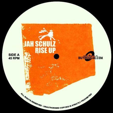 """Jah Schulz - Rise Up / Dubrise - 7"""" - Railroad Records"""