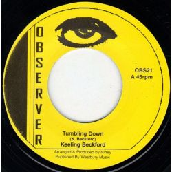 "Keeling Beckford / Ken Boothe - Tumbling Down / Silver Words - 7"" - Observer"