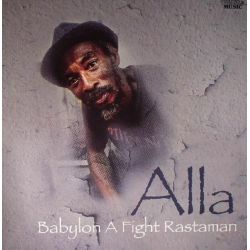 Alla  - Babylon A Fight Rastaman - LP - Twinkle Music