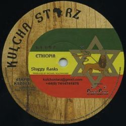 "Sluggy Ranks / Rob Symeonn - Ethiopia / Anything For Jah - 10"" - Kulcha Starz"