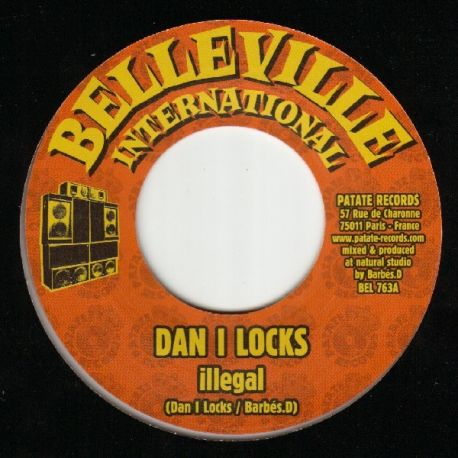 Dan I Locks - Illegal - 7""