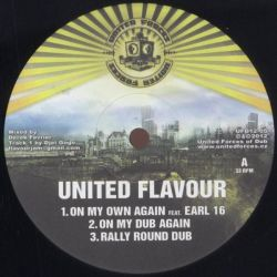 "United Flavour - Dub Attitude - 12"" - United Forces Of Dub"