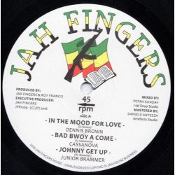 Dennis Brown / Cassanova / Junior Brammer /  - In The Mood For Love / Bad Boy A Come / Johnny Get Up / No Time To Waste - 12""