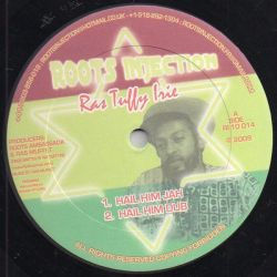 "Ras Tuffy Irie - Hail Him Jah / Rise Up - 10"" - Roots Injection"