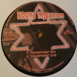 "Ras Muffet - Triumphant Mix - 10"" - Roots Injection"