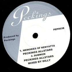 "Peckings Allstars - West Is Peckings - 10"" - Peckings Records"