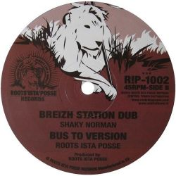 "Roots Ista Posse / Ras Mykha - Bus To Zion - 10"" - Roots Ista Posse Records"
