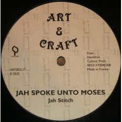 "Sylford Walker / Jah Stitch - Book Of The Old Testament / Jah Spoke Unto Moses - 12"" - Art  Craft"