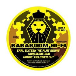 "Earl Sixteen / I-Mitri - We Play Sound / Life On Line - 12"" - Bababoom Hi Fi"