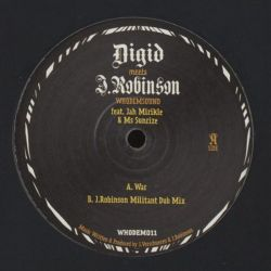 "Digid / J. Robinson / Jah Mirikle /  - War - 10"" - WhoDemSound"