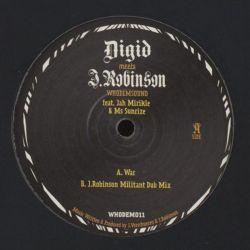 """Digid / J. Robinson / Jah Mirikle /  - War - 10"""" - WhoDemSound"""