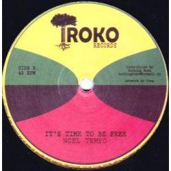 "Noel Tempo - Run, Run, Run / It's Time To Be Free - 12"" - Iroko Records"