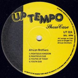 "African Brothers  - Showcase - 10"" - Uptempo Records"