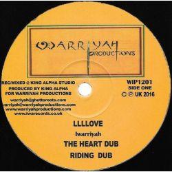 """Iwarriyah / King Alpha -  Llllove / Long Way To Travel  - 12"""" - Iwa Records"""