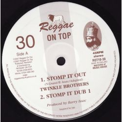 "Twinkle Brothers - Stomp It Out - 10"" - Reggae On Top"