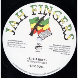 "Freedom Masses - Life A Ruff - 12"" - Jah Fingers Music"