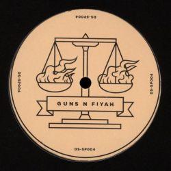 "Bukkha - Guns N Fiyah EP - 12"" - Dub-Stuy Records"