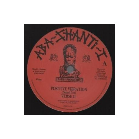 Aba-Shanti-I, Shanti-Ites, The -  Positive Vibration , Love & Unity - 12""