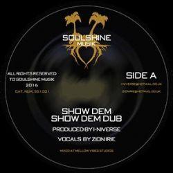 "Zion Irie / Amelia Harmony - Show Dem / Burning Like Fire - 12"" - Soulshine Musik"