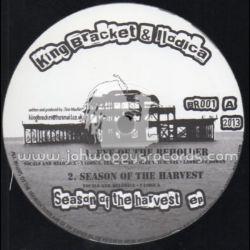 "King Bracket / Ilodica - Season Of The Harvest EP - 12"" - Bracket Records"