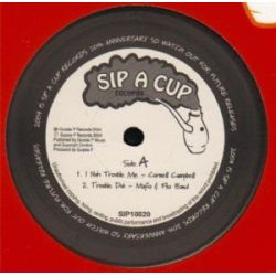 Cornell Campbell , Sip-A-Cup All Stars, The - Nuh Trouble Me , Skanking On The Riverbank - 10""