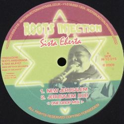 "Sista Eherta - New Jerusalem - 10"" - Roots Injection"