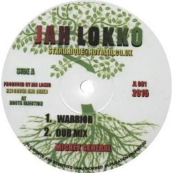 "Mikey General - Warrior / Seventy Two Nations - 12"" - Jah Lokko"