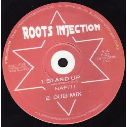 "Naffi I - We Shall Not Want / Stand Up - 10"" - Roots Injection"