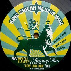 "Murrayman, Dub Creator - Healing Of The Nation , Mental Slavery - 12"""