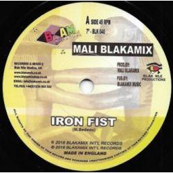"Mali Blakamix -  Iron Fist - 7"" - Blakamix"