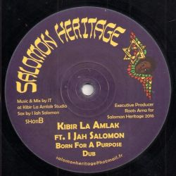 "Ashanti Selah / The Samsonites / Kibir La Amlak /  - All Tribes Unite / Born For A Purpose - 12"" - Salomon Heritage"