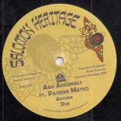 "Aba-Ariginals / Patrick Tenyue - Anthem / Camden Town - 12"" - Salomon Heritage"