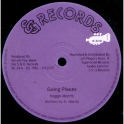 "Naggo Morris - Going Places / A True You Na Know - 12"" - S  G Records"