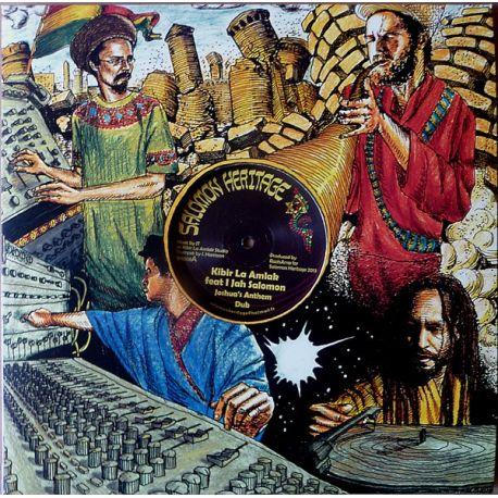 "Kibir La Amlak Feat I Jah Salomon , Riddim Activist, The Feat I Jah Salomon - Joshua's Anthem , Horns Of Jericho - 12"""