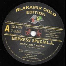 "Special A. -  Babylon System - 7"" - Blakamix"