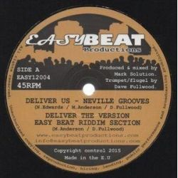 """Neville Grooves / Easy Beat Riddim Section - Deliver Me - 12"""" - Easy Beat Productions"""