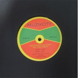 "Goldmaster Allstars / Tony Roots - Fret Not / Guide 1 - 10"" - Muzik City"