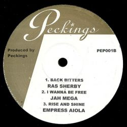 """Gappy Ranks / Nerious Joseph / Lioness Fonts - Thy Should Love Thyself / Rastaman / Fathers Glory - 10"""" - Peckings Records"""